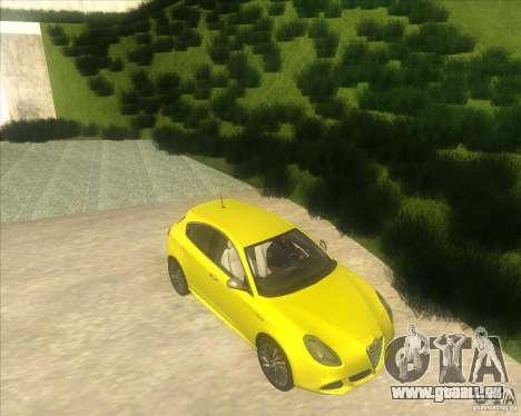 Alfa Romeo Giulietta QV 2011 für GTA San Andreas rechten Ansicht