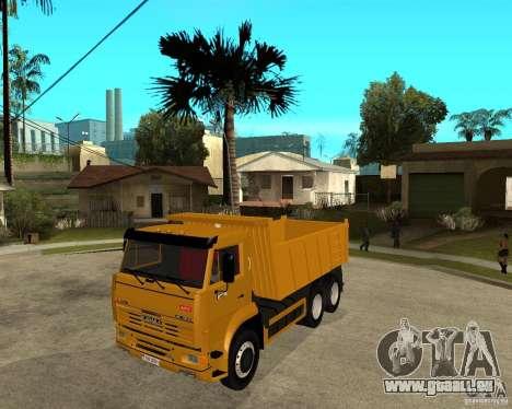 KAMAZ 6520 TAI pour GTA San Andreas
