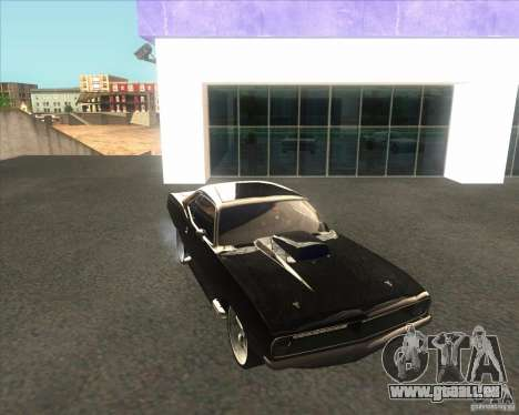 Plymouth Barracuda für GTA San Andreas rechten Ansicht