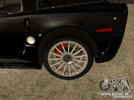 Chevrolet Corvette C6.R pour GTA San Andreas vue de droite