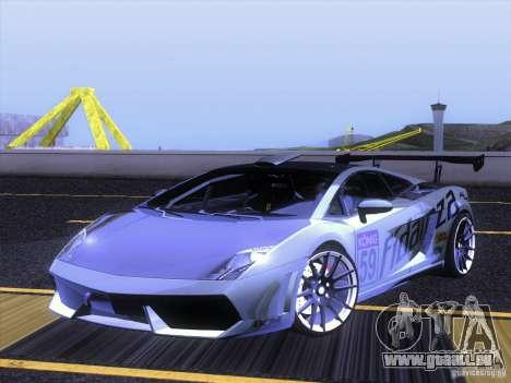 Lamborghini Gallardo Racing Street pour GTA San Andreas vue de côté