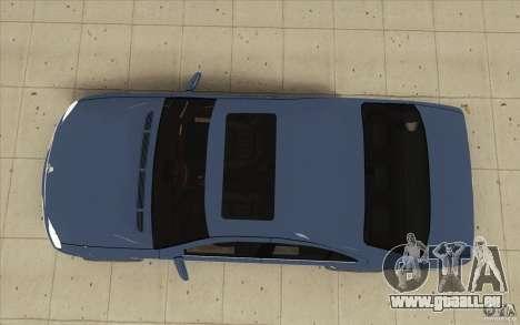 Mercedes-Benz S-Klasse pour GTA San Andreas vue de droite