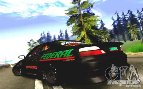 Nissan Silvia S15 Drift Works für GTA San Andreas rechten Ansicht