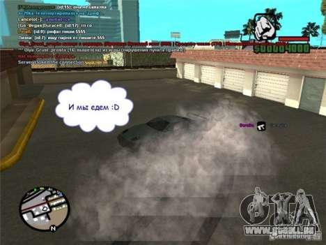 Steuern Sie Ihr Auto überall für GTA San Andreas zweiten Screenshot