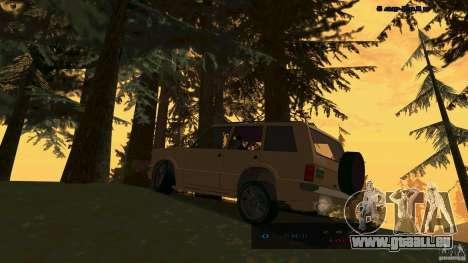HD Huntley pour GTA San Andreas laissé vue
