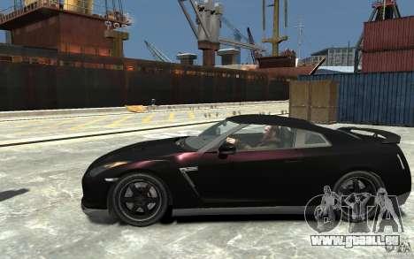 Nissan GT-R R35 Final pour GTA 4 est une gauche