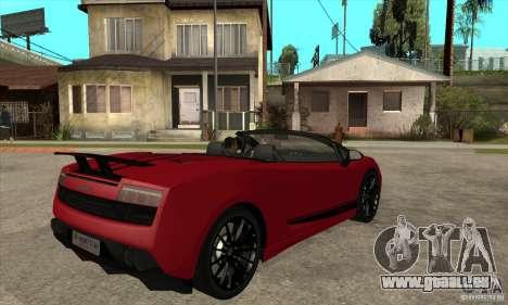 Lamborghini LP570-4 Performante 2011 pour GTA San Andreas vue de droite