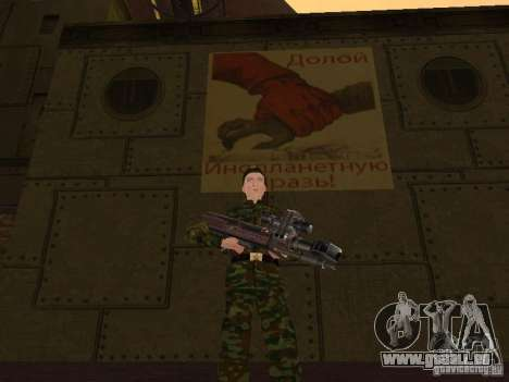 Soldats de l'armée russe pour GTA San Andreas septième écran