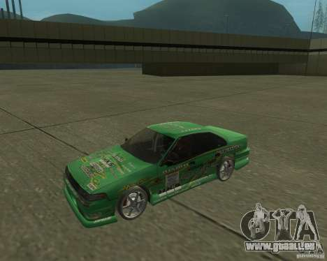 Nissan Cefiro A31 (D1GP) pour GTA San Andreas sur la vue arrière gauche