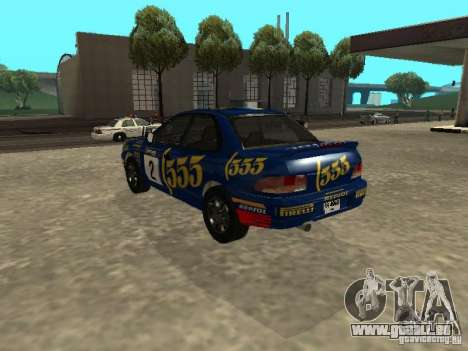 Subaru Impreza WRX STI 1995 pour GTA San Andreas roue