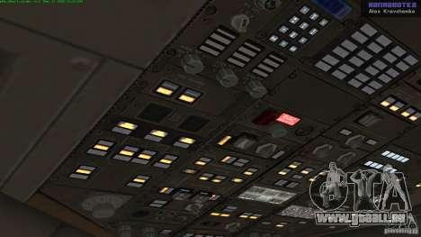 Boeing 757-200 Final Version pour GTA San Andreas vue arrière