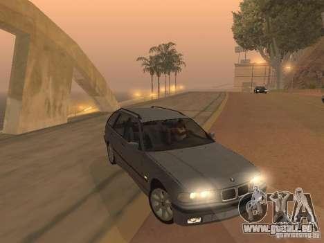 BMW 318 Touring pour GTA San Andreas sur la vue arrière gauche