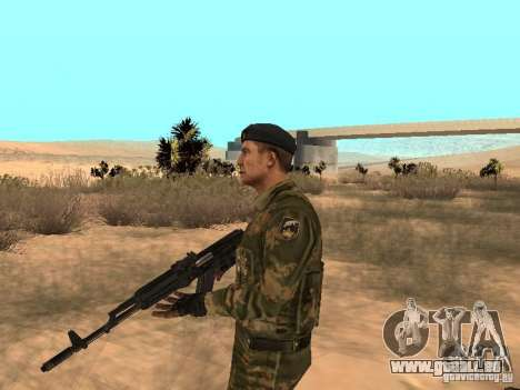 Commando soviétique pour GTA San Andreas deuxième écran
