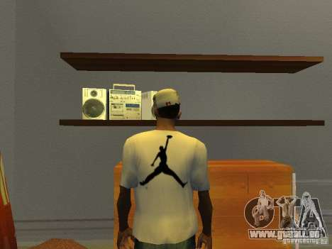 Nike Air Jordan - T-Shirt pour GTA San Andreas
