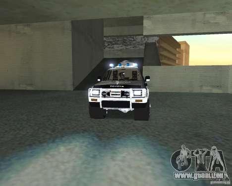 Toyota Surf v2.1 pour GTA San Andreas vue intérieure