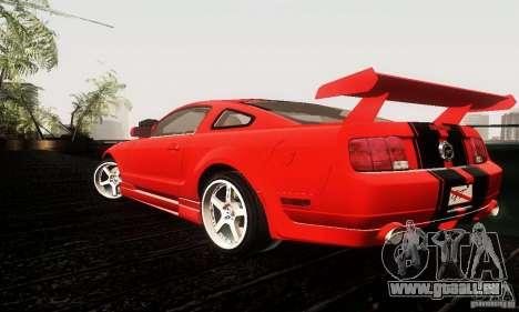 Ford Mustang GT Tunable für GTA San Andreas rechten Ansicht