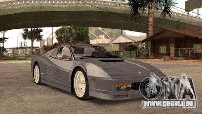 Ferarri Testarossa 1991 für GTA San Andreas