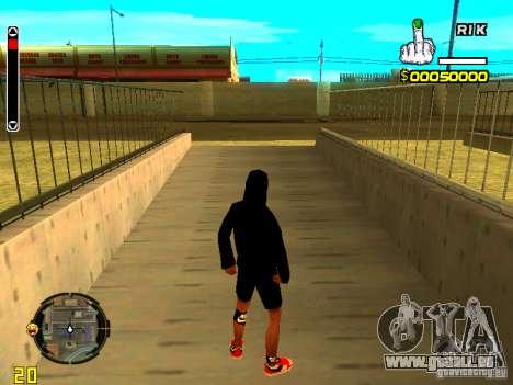 Haut Penner v7 für GTA San Andreas zweiten Screenshot