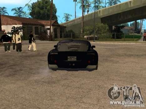 TVR Sagaris für GTA San Andreas Rückansicht