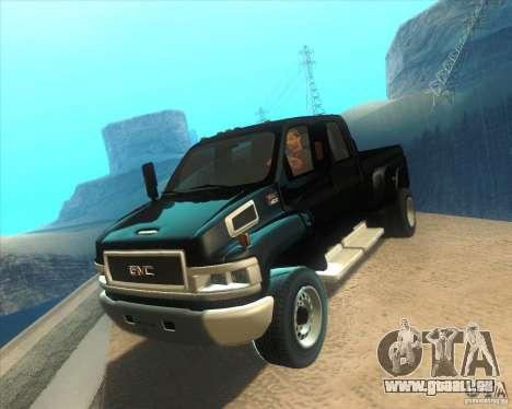 GMC Topkick C4500 2008 pour GTA San Andreas