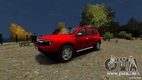 Dacia Duster SUV 4x4 2010 für GTA 4