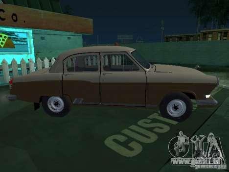 GAZ M21T Taxi pour GTA San Andreas vue arrière