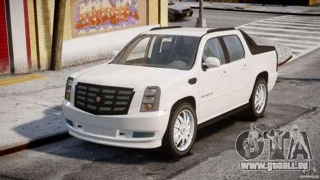 Cadillac Escalade Ext pour GTA 4 est un droit