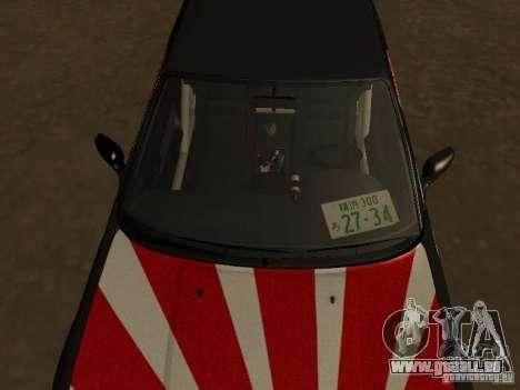 Nissan Silvia S13 JDM für GTA San Andreas Rückansicht