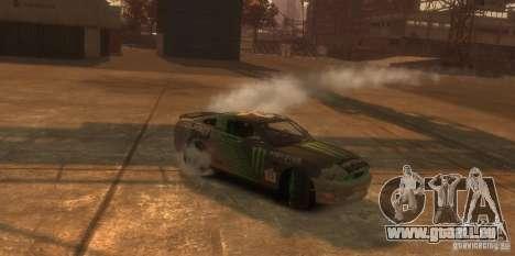 Ford Mustang Monster Energy 2012 pour GTA 4 est une vue de l'intérieur