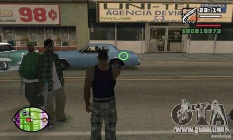 Neue Sicht für GTA San Andreas siebten Screenshot