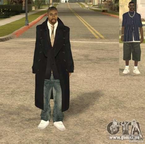 Casual Man pour GTA San Andreas deuxième écran