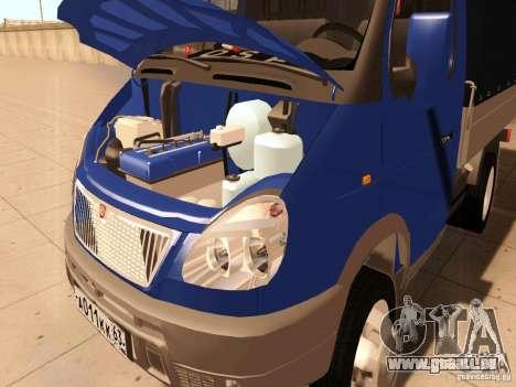 3302 Gazelle pour GTA San Andreas vue intérieure