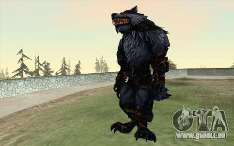 Werewolf Transformation V1.0 pour GTA San Andreas