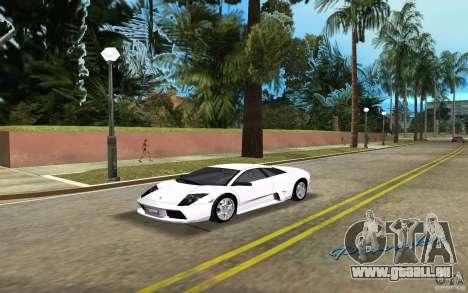 Lamborghini Murcielago V12 6,2L pour GTA Vice City