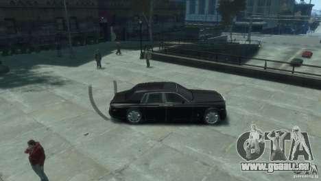 Rolls-Royce Phantom pour GTA 4 Vue arrière