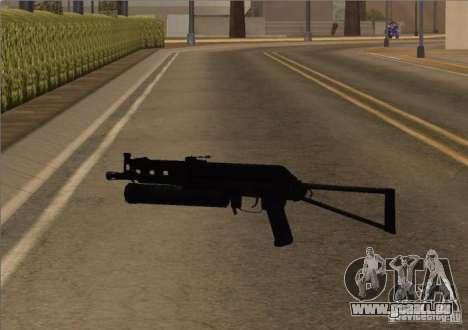 Pak intérieur armes version 6 pour GTA San Andreas deuxième écran