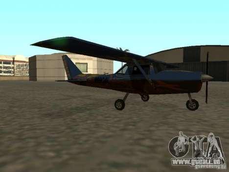 Ein neues Flugzeug-Dodo für GTA San Andreas linke Ansicht