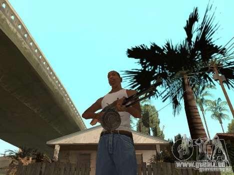 Leichtes Maschinengewehr Dâgterëva für GTA San Andreas zweiten Screenshot