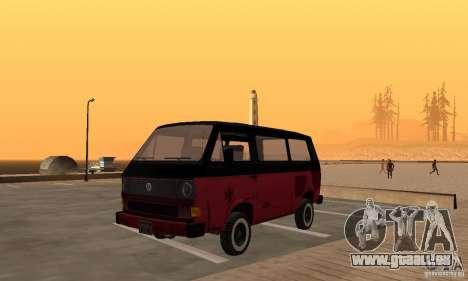 Volkswagen T3 Rusty für GTA San Andreas