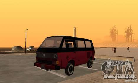 Volkswagen T3 Rusty pour GTA San Andreas