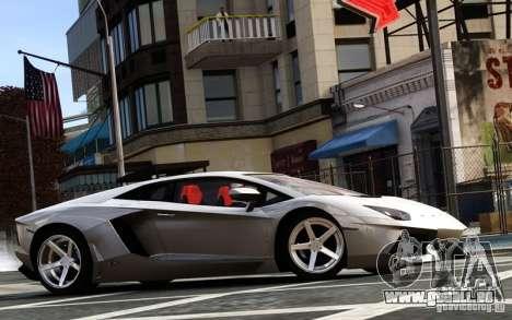 Lamborghini Aventador LP700-4 2012 für GTA 4 linke Ansicht