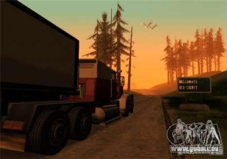 LKW v2. 0 für GTA San Andreas zweiten Screenshot