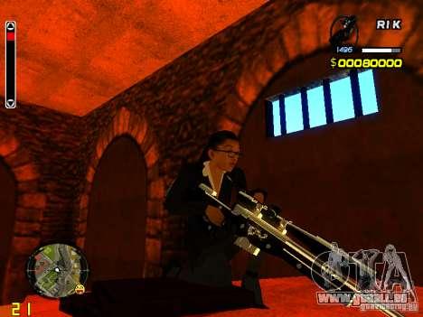 Next weapon pack pour GTA San Andreas quatrième écran