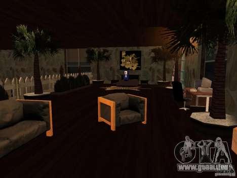 Club auf dem Wasser für GTA San Andreas her Screenshot