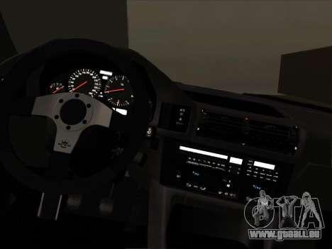 BMW M5 E34 NeedForDrive pour GTA San Andreas vue intérieure