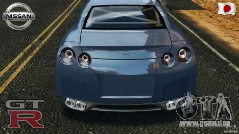 Nissan GT-R 35 rEACT v1.0 für GTA 4 Seitenansicht