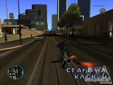 GTA IV TARGET SYSTEM 3.2 pour GTA San Andreas cinquième écran