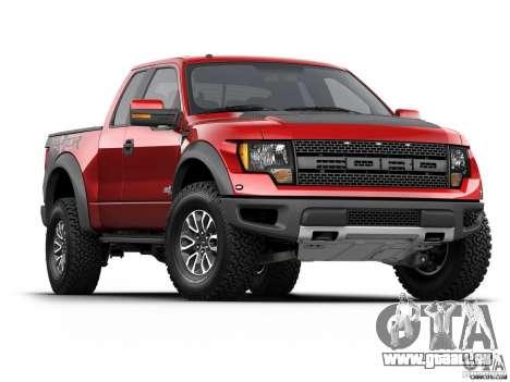 Écrans de chargement Ford pour GTA San Andreas cinquième écran