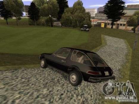 AMC Pacer für GTA San Andreas linke Ansicht