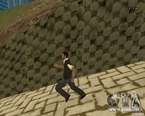 Nouvelles animations pour GTA San Andreas cinquième écran